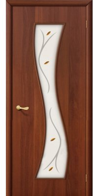 Межкомнатная дверь ГРАЦИЯ итальянский орех ПО