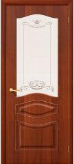 Межкомнатная дверь МОДЕНА итальянский орех ПО