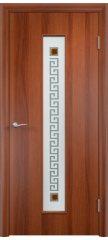 Межкомнатная дверь ТИФФАНИ 1 итальянский орех ПО