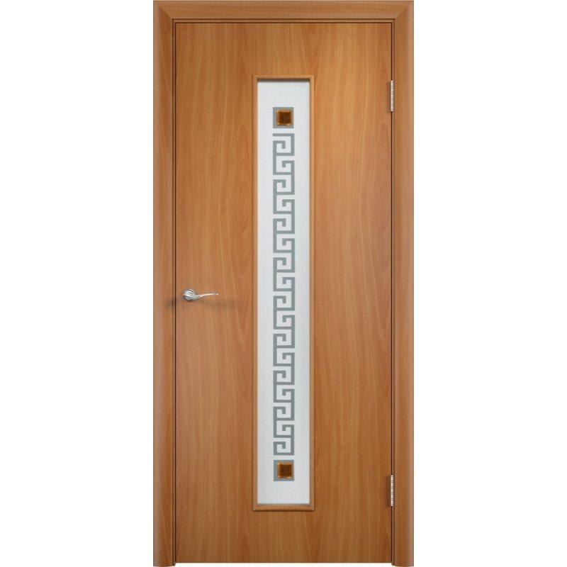 Межкомнатная дверь ТИФФАНИ 1 миланский орех ПО
