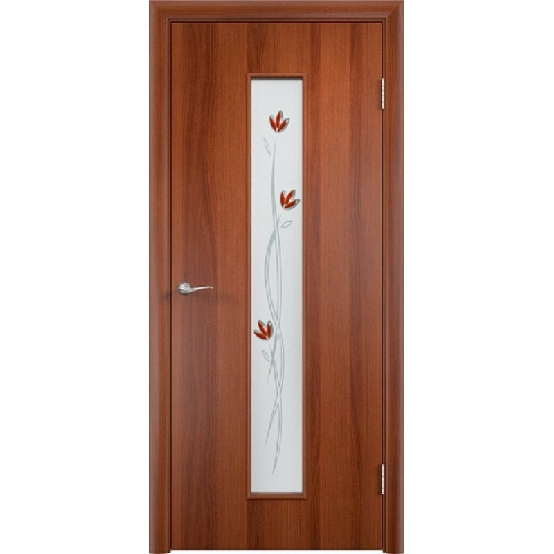 Межкомнатная дверь ТИФФАНИ 2 итальянский орех ПО