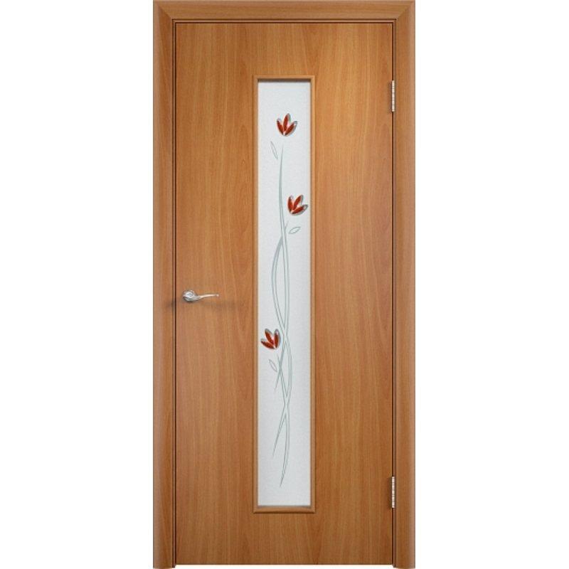 Межкомнатная дверь ТИФФАНИ 2 миланский орех ПО