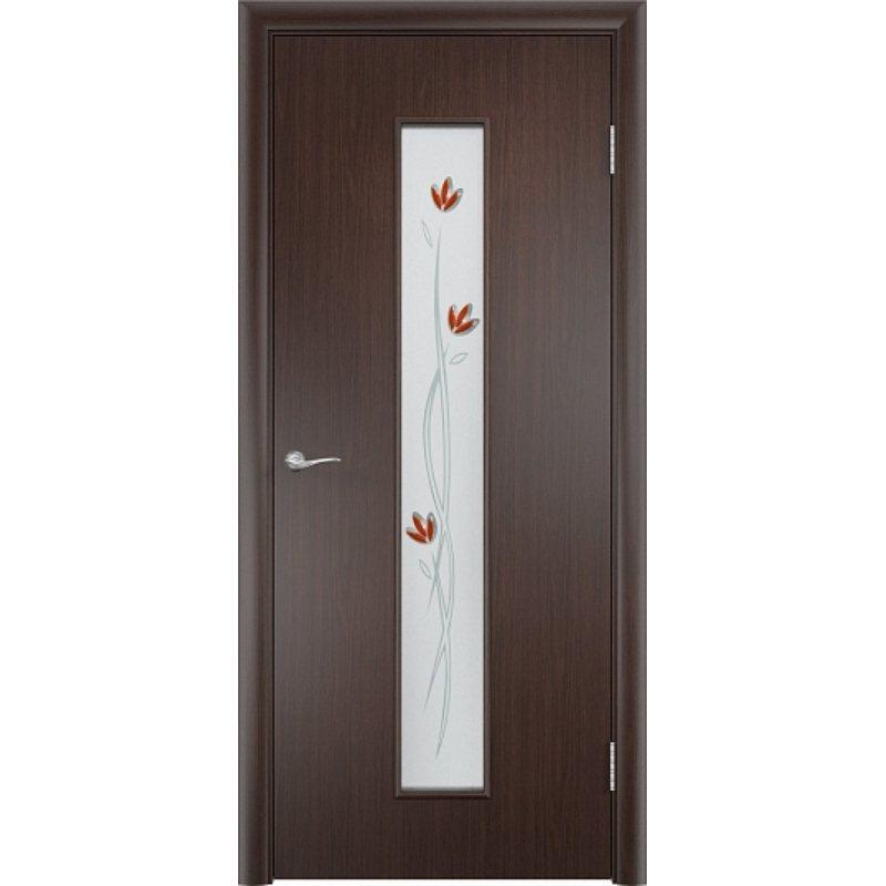 Межкомнатная дверь ТИФФАНИ 2 венге ПО