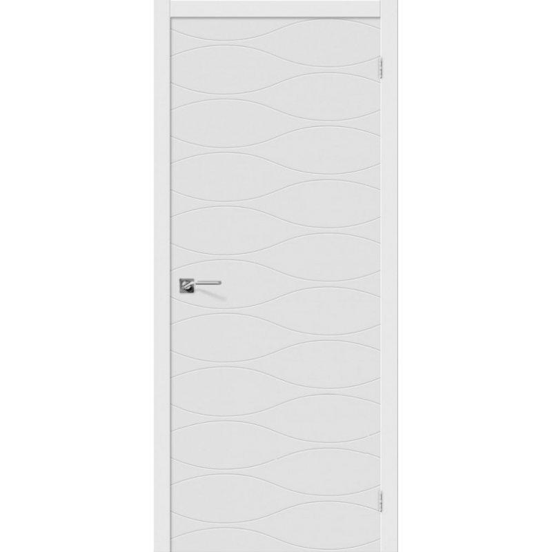 Межкомнатная дверь ГРАФФИТИ-3 белый