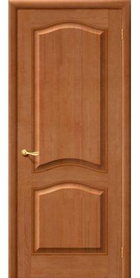 Межкомнатная дверь М7 светлый лак ПГ