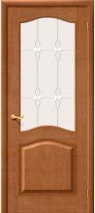Межкомнатная дверь М7 светлый лак ПО