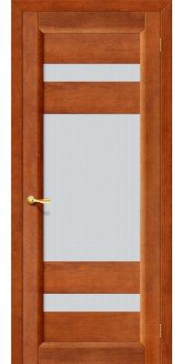 Межкомнатная дверь ВЕГА-2 темный орех ПО