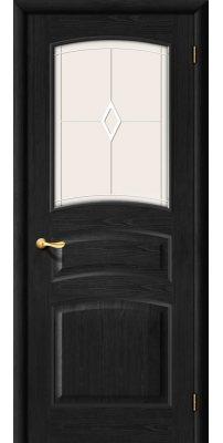 Межкомнатная дверь М16 венге ПО