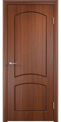 Межкомнатная дверь КЭРОЛЛ итальянский орех ПГ