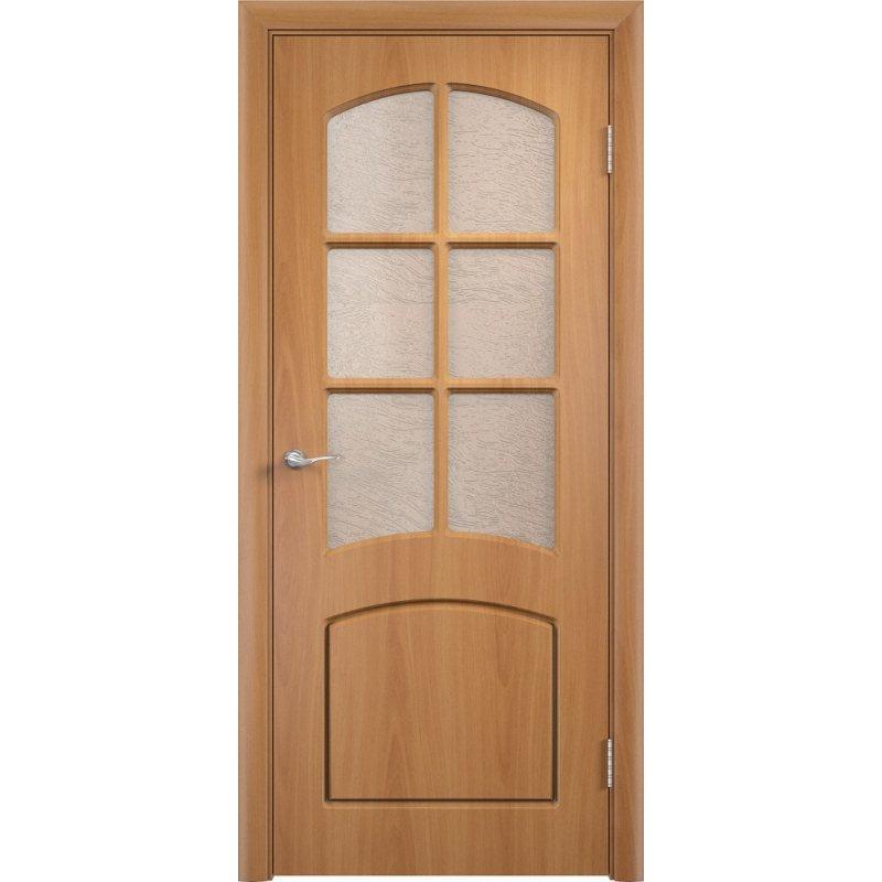 Межкомнатная дверь КЭРОЛЛ миланский орех ПО