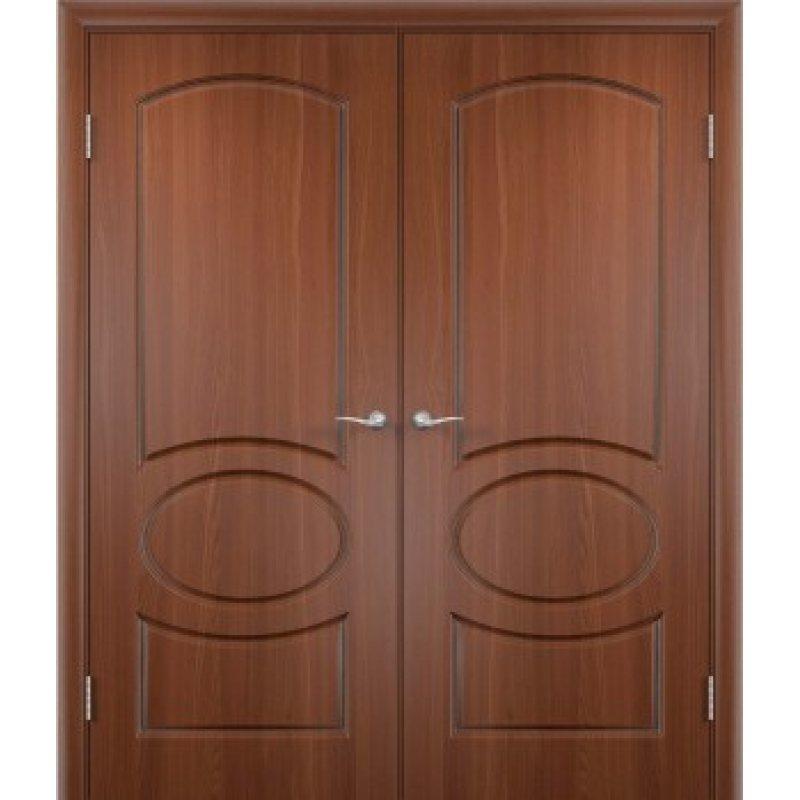 Двери межкомнатные итальянский орех фото