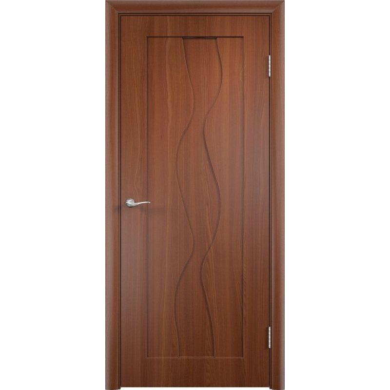 Межкомнатная дверь ВИРАЖ итальянский орех ПГ