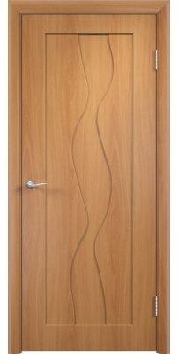 Межкомнатная дверь ВИРАЖ миланский орех ПГ