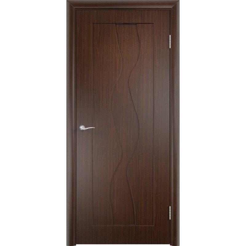 Межкомнатная дверь ВИРАЖ венге ПГ