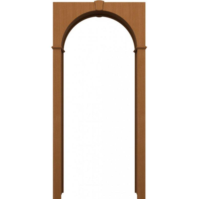 Межкомнатная арка ПВХ итальянский орех