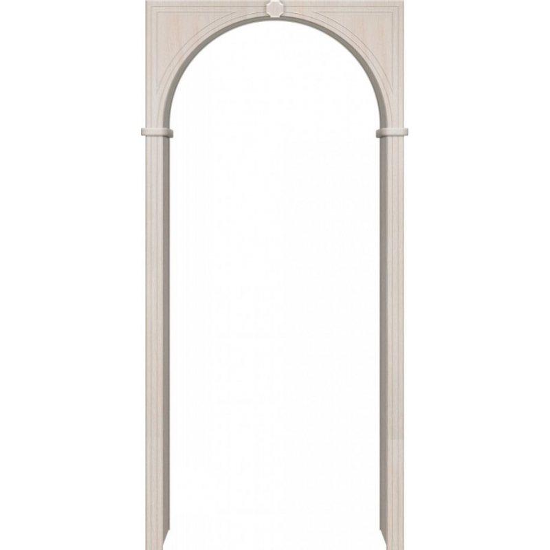 Межкомнатная арка Браво П-21 ПВХ беленый дуб