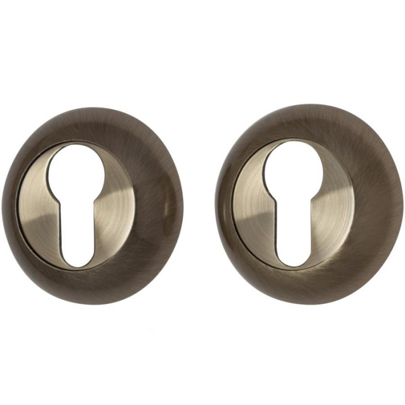 Накладка на круглой розетке A/Z-4CL бронза