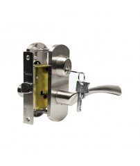 Ручка Archie T111-X11-V3 белый никель, с ключом