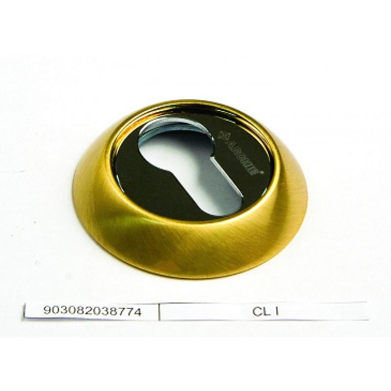Накладка на цилиндр ARCHIE матовое золото