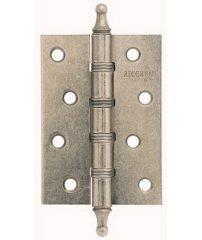 Петля врезная Adden Bau 100X70X2.5 4W состаренное серебро