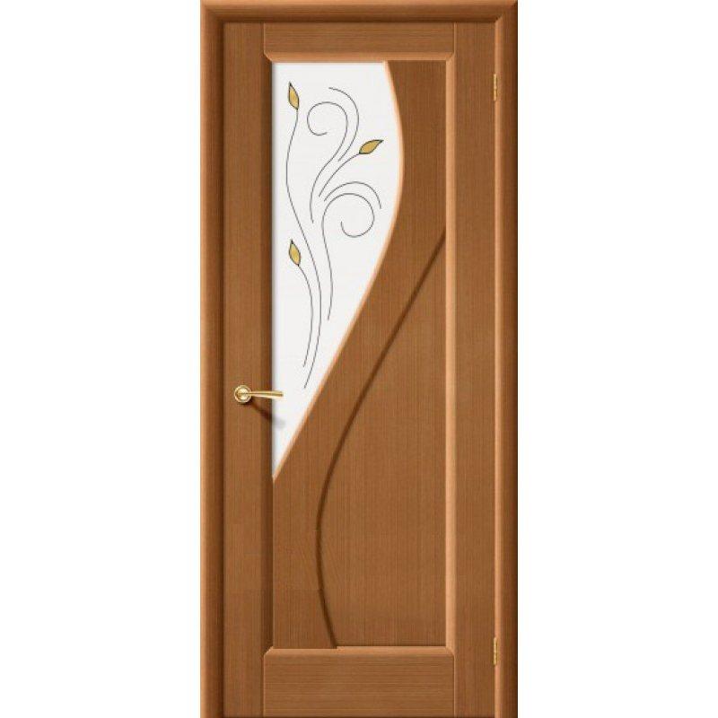 Межкомнатная дверь САНДРО орех ПО