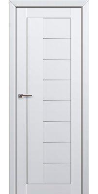 Межкомнатная дверь 17U аляска, стекло матовое