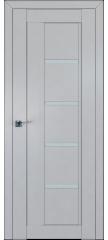 Межкомнатная дверь 2.08(111)U манхэттен, стекло матовое