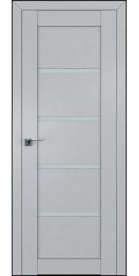 Межкомнатная дверь 2.09(112)U манхэттен, стекло матовое