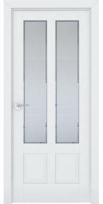 Межкомнатная дверь 2.117U аляска, стекло square матовое
