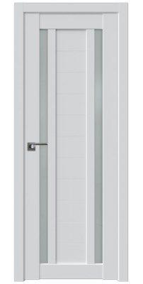 Межкомнатная дверь 15U аляска, стекло матовое
