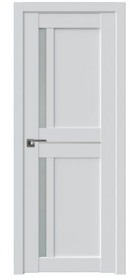 Межкомнатная дверь 19U AL  аляска, стекло матовое