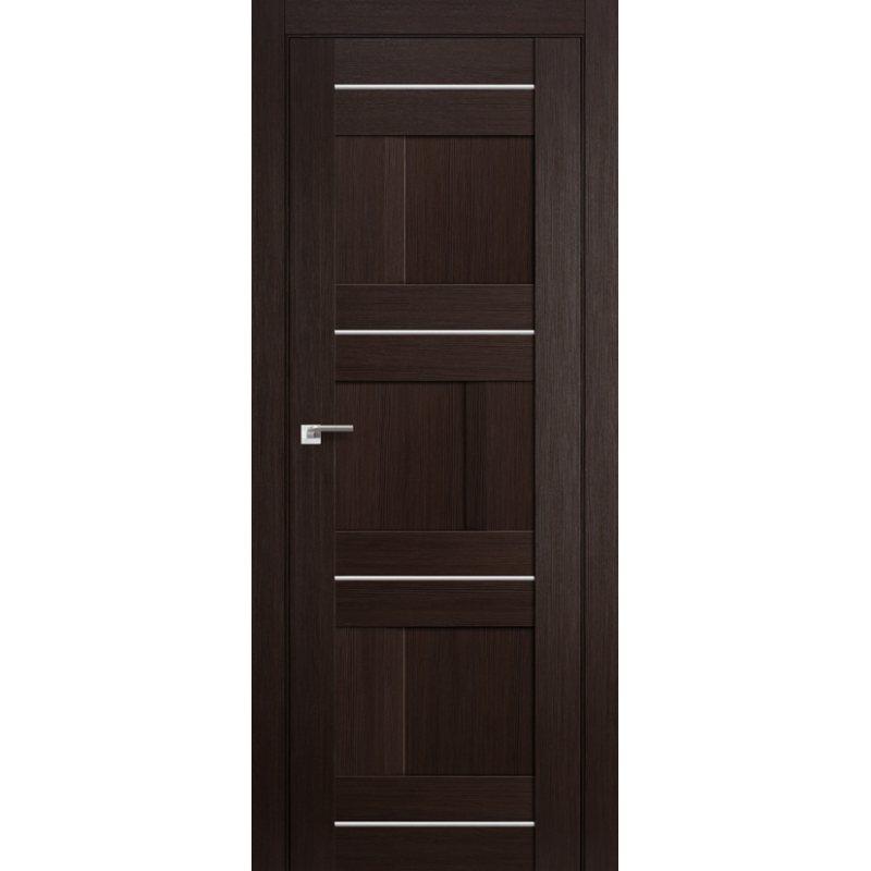 Межкомнатная дверь 12X венге мелинга,глухая