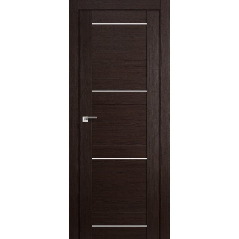 Межкомнатная дверь 42X венге мелинга,глухая