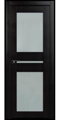 Межкомнатная дверь 70X венге мелинга, стекло матовое