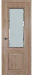 Межкомнатная дверь 2.42XN солинас светлый, стекло square матовое