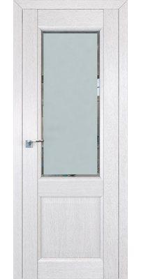 Межкомнатная дверь 2.42XN монблан, стекло square матовое