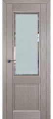 Межкомнатная дверь 2.42XN стоун, стекло square матовое