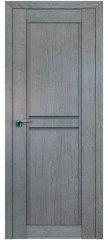 Межкомнатная дверь 2.75XN грувд, стекло графит