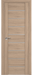 Межкомнатная дверь 98XN солинас светлый, стекло матовое