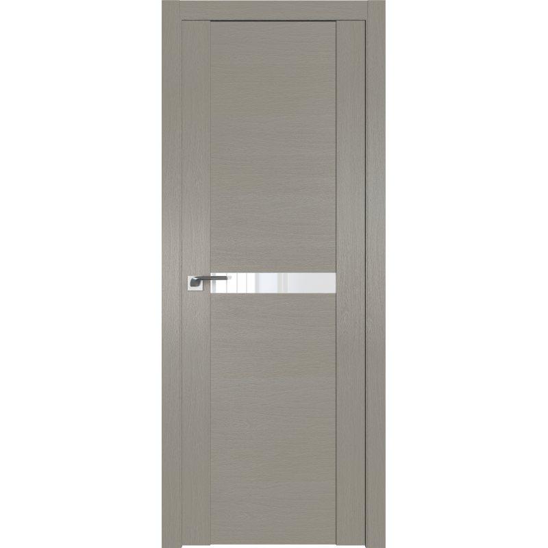 Межкомнатная дверь 2.01XN стоун, стекло белый лак