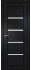 Межкомнатная дверь 2.09XN даркбраун, стекло матовое