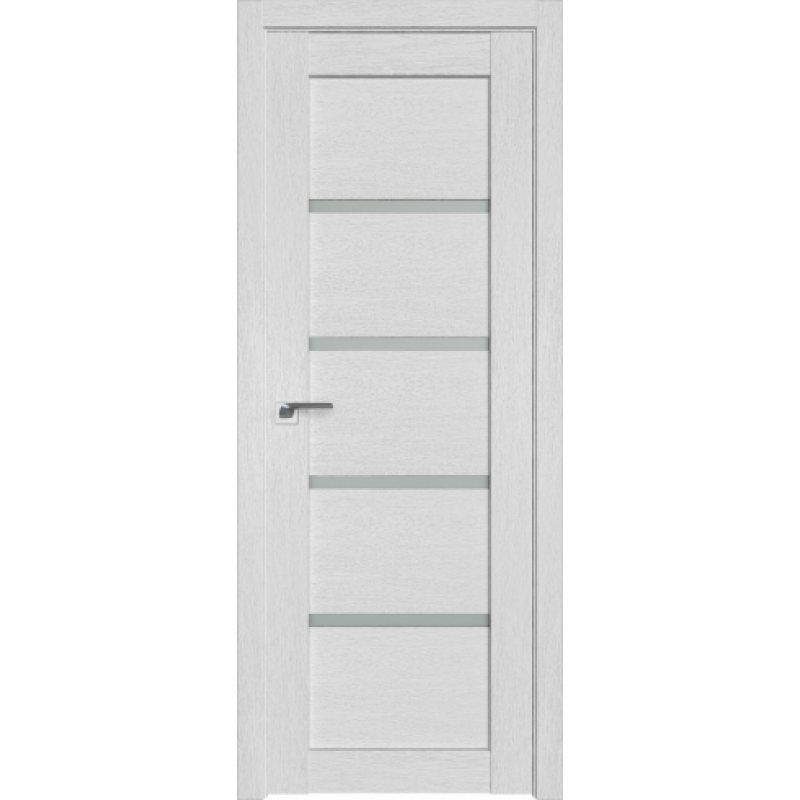 Межкомнатная дверь 2.09XN монблан, стекло матовое