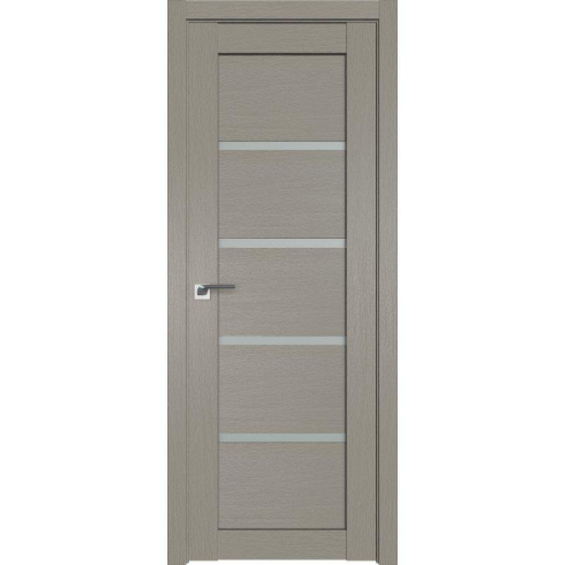 Межкомнатная дверь 2.09XN стоун, стекло матовое