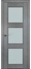 Межкомнатная дверь 2.27XN грувд, стекло матовое