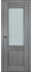 Межкомнатная дверь 2.42XN грувд, стекло матовое