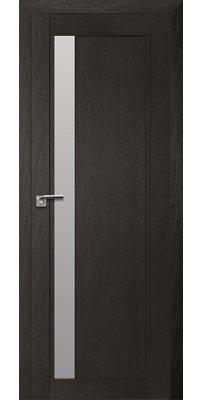 Межкомнатная дверь 2.71XN даркбраун, стекло матовое