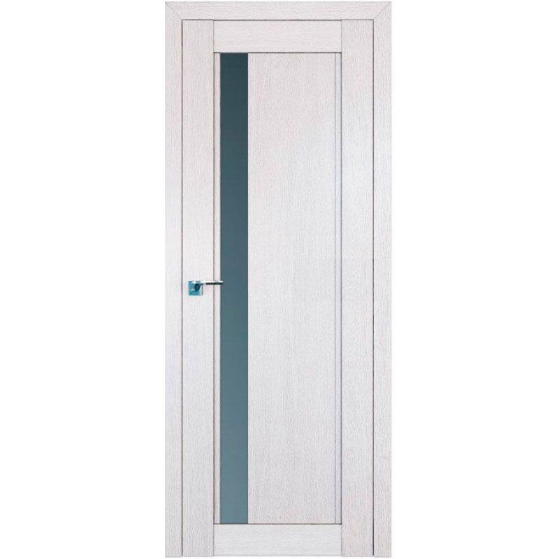 Межкомнатная дверь 2.71XN монблан, стекло матовое