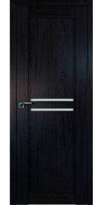 Межкомнатная дверь 2.75XN даркбраун, стекло матовое