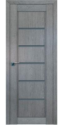 Межкомнатная дверь 2.76XN грувд, стекло графит