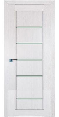 Межкомнатная дверь 2.76XN монблан, стекло матовое